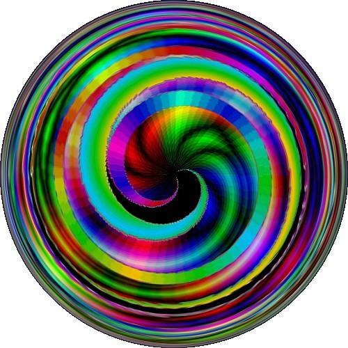 Psychedlic spiral