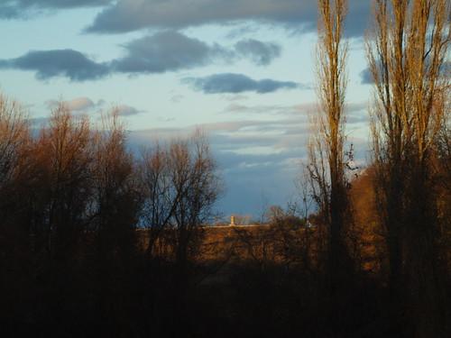 blue sky plants clouds landscape hungary olympus tokina m42 mf manualfocus baranya e400