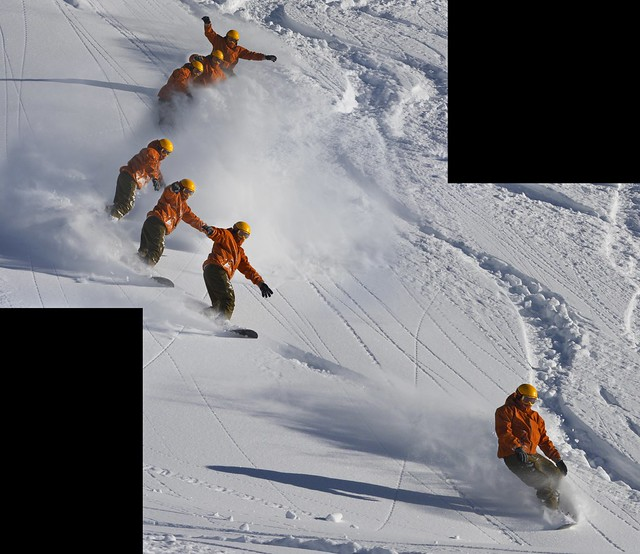 Powder Sequence Shot