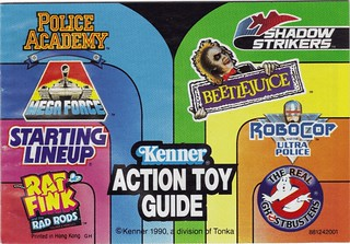 1990 Kenner Action Toy Guide