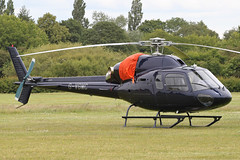 G-VGMC - 2001 build Eurocopter AS355N Ecureuil II, visiting Barton