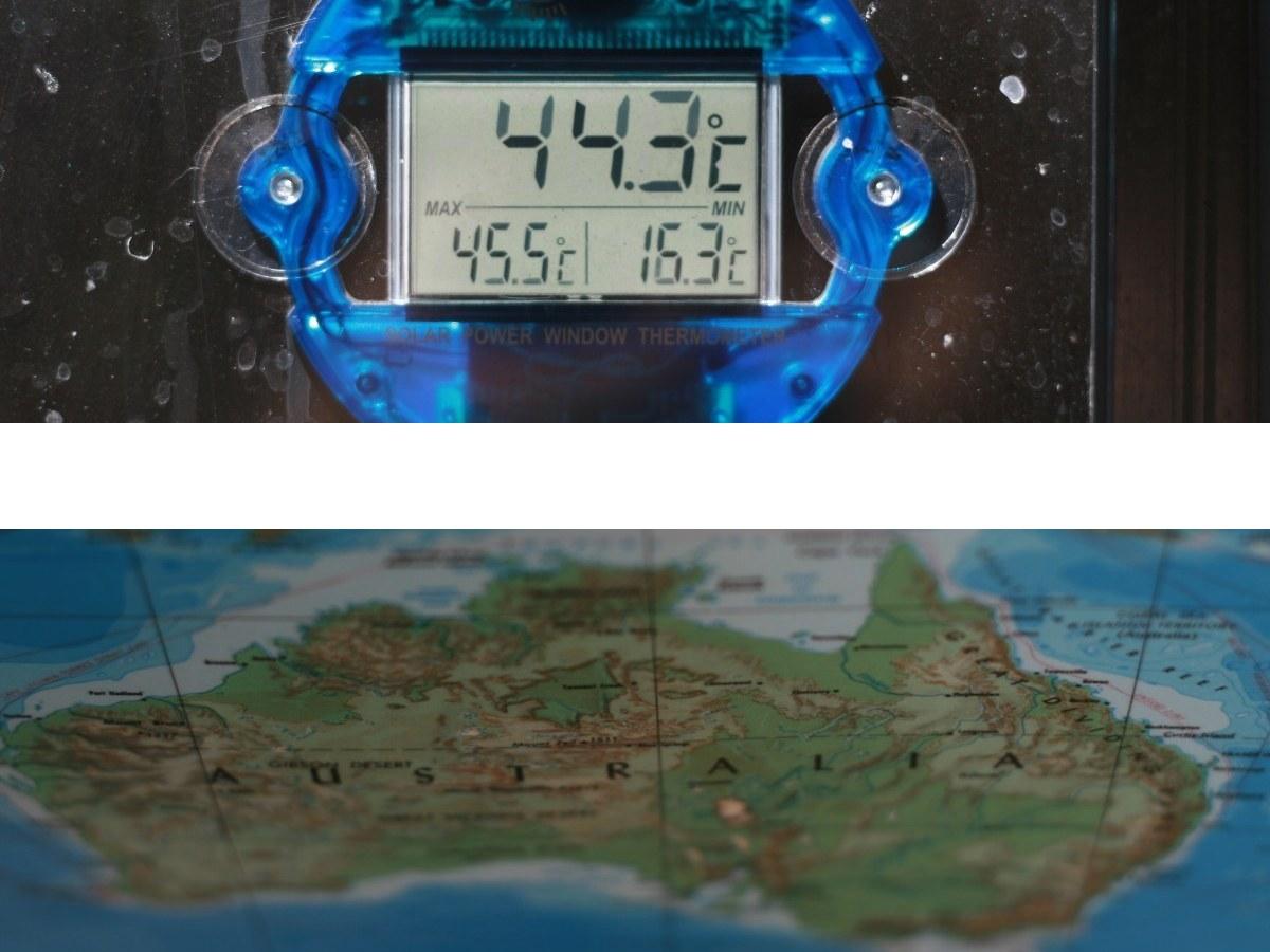 40 grados verano australia