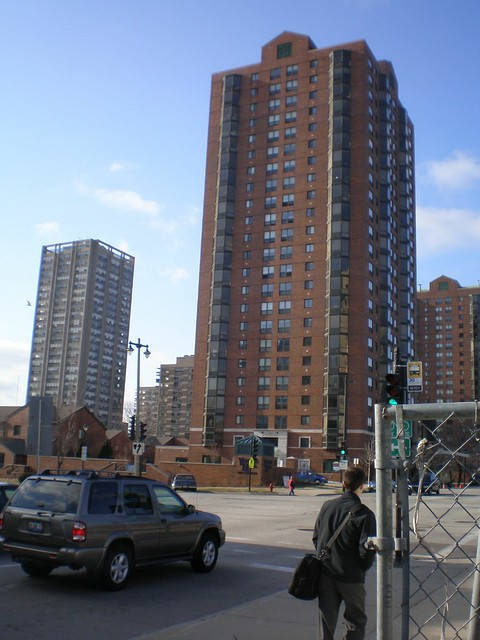 Yankee Hill Apartments With Juneau Village Towers In The
