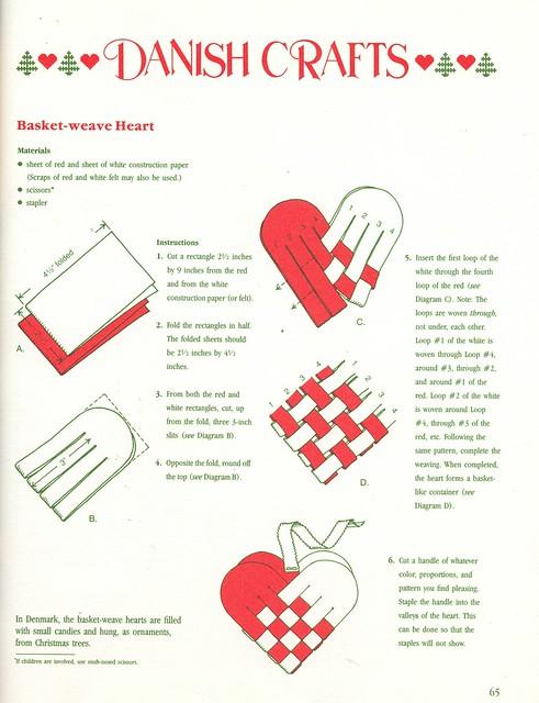How To Weave A Danish Heart Basket : Crafts basket weave heart bk flickr photo sharing