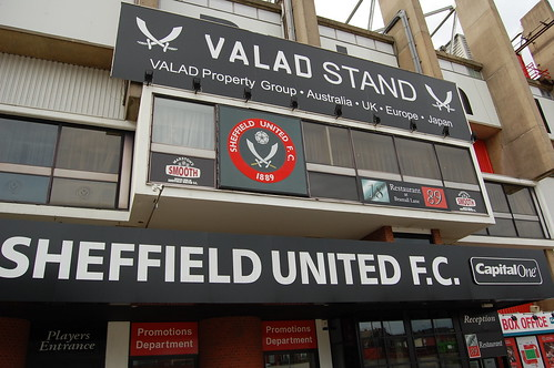 Exterior of Valad Stand (South)