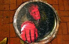 Hellboy marketing in Chinatown