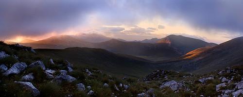 panorama mountains nature sunrise d50 outdoor hiking panoramic macedonia nikkor50mmf18 2008 jakupica makedonie јакупица