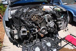 Timing belt exposed | by osunick