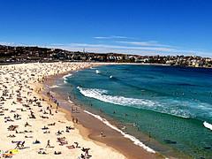 Sydney's Bondi beach.