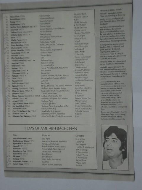 Careergraphs - Rajesh Khanna & Amitabh Bachchan - 4