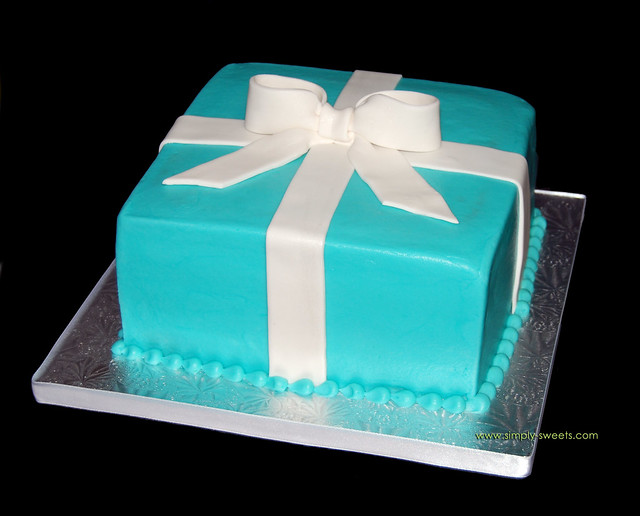 111 Best Tiffany & Co party images   Tiffany party ...  Tiffany Bridal Shower Cakes