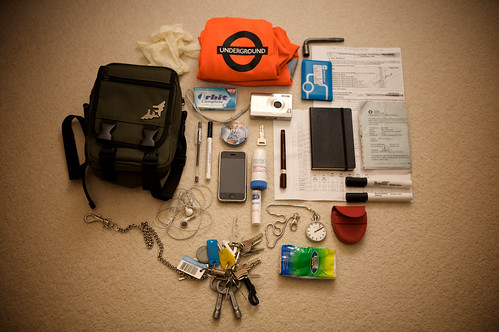 what's in my bag: just before annual leave