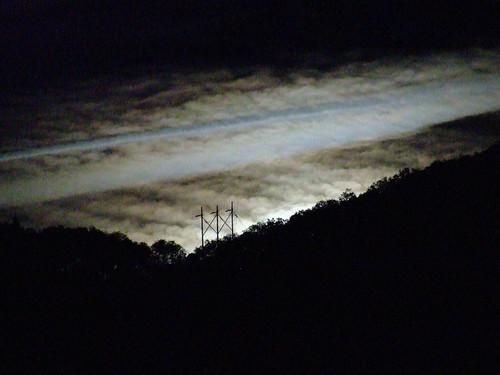 cloud moon night clouds oregon luna nightsky lunar moonscape