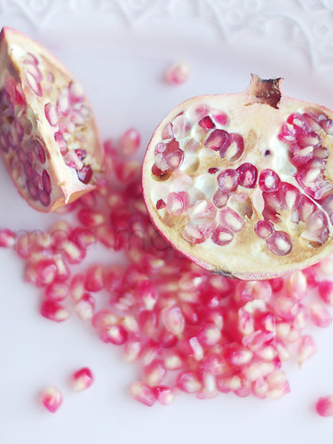 Pomegranate in pink