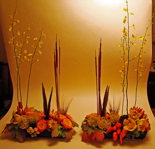 DSC02993 - autumn centerpiece