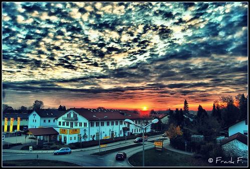 sunset sky clouds sonnenuntergang himmel wolken hdr nikond40x nikkorafs1855mmf3556gif ©frankf
