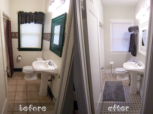 Bathroom Before And After Paint : And kathleen november