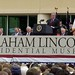 Springfield IL - President Bush Speaking at Abraham Lincoln Presidential Museum Dedication 4/19/2005 by myoldpostcards