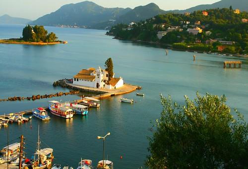 Scenery, Corfu island