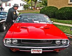 automobile, automotive exterior, vehicle, automotive design, dodge challenger, classic car, land vehicle, muscle car, sports car,