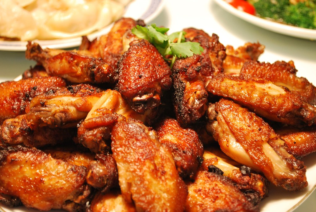 Grandma's Fried Chicken Wings