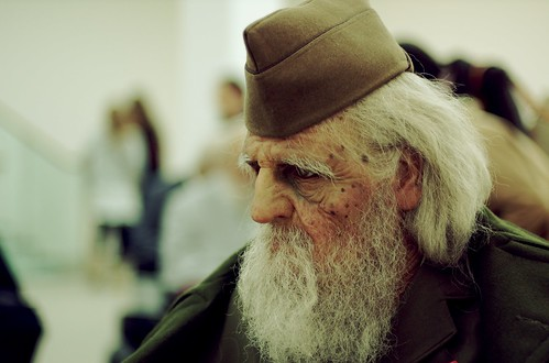 Old soldier by matthbooth on Flickr