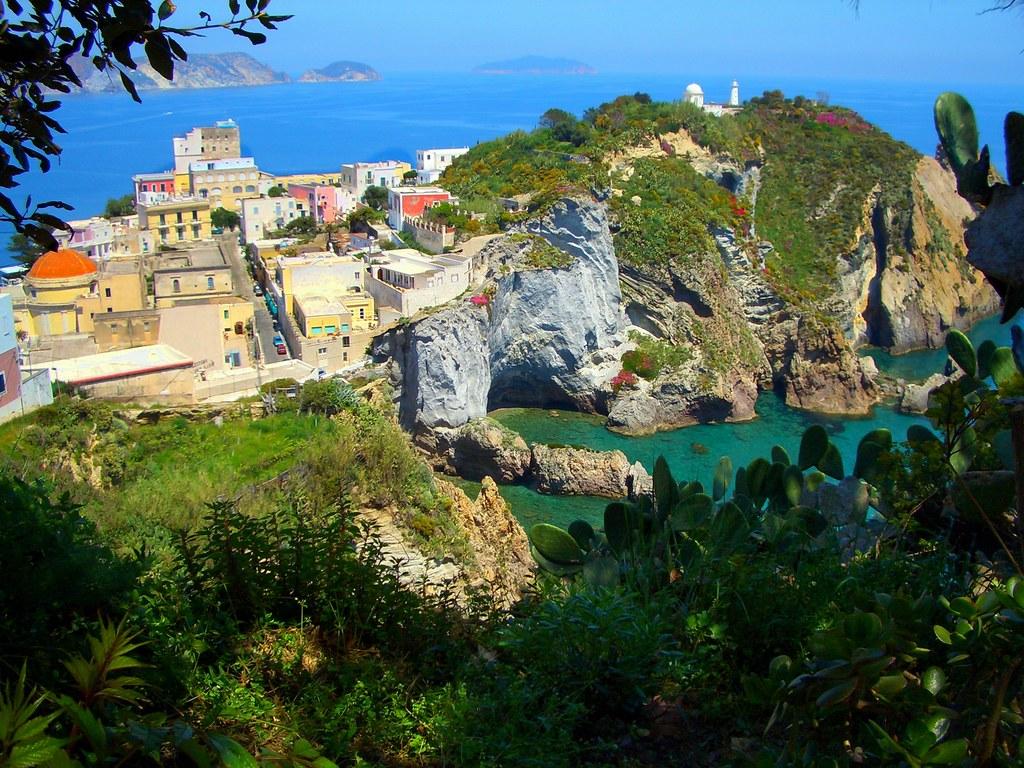 Scenery, Ponza island