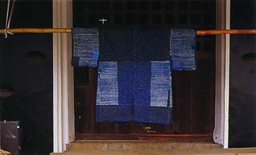 Mending and rag weaving in rural Japan