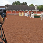 Sky sports visit Equitation School MC Kee Barracks