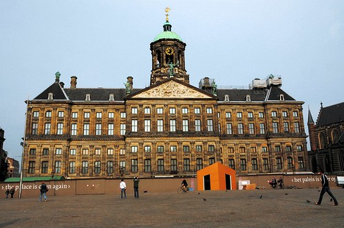The Amsterdam Royal Palace in Dam Square