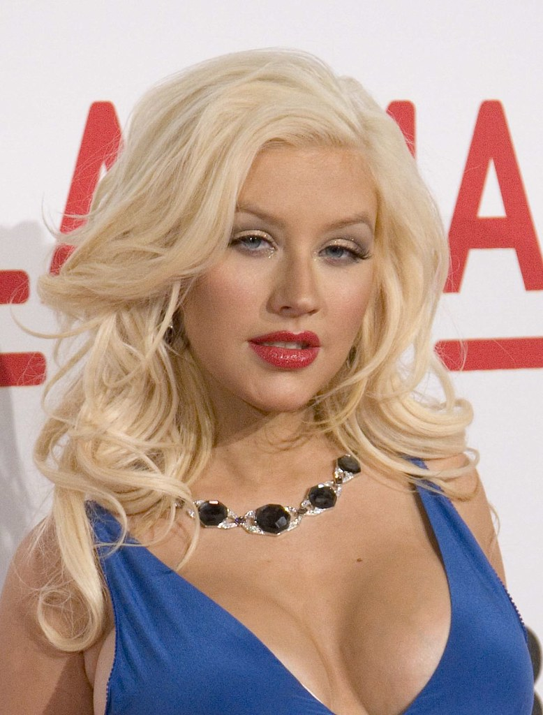 Cleavage Christina Aguilera nude photos 2019