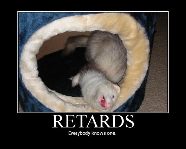 Retards. | Flickr - Photo Sharing!