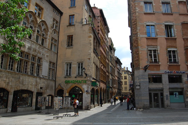 Streets of Lyon by Flickr CC Edwin Lee