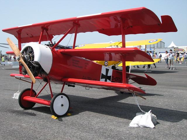 Von Rechts: Fokker Dr.I