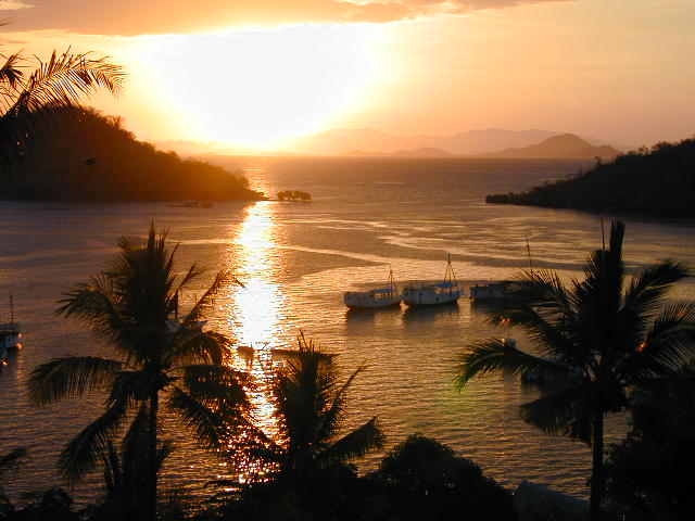 Sunset over Labuan Bajo