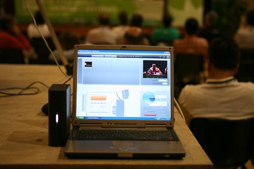Gravació en vídeo digital de les Jornades