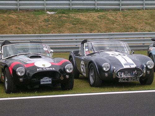 Ac Cobra at Le Mans Classic 2008
