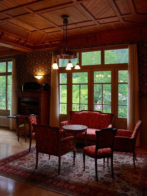 Salon belle poque authentic art nouveau interior at hote flickr phot - Belle epoque interiors ...