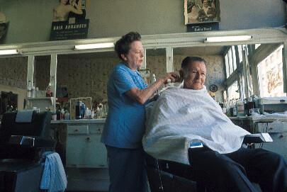 Barber shop, circa 1967 | Flickr - Photo Sharing!