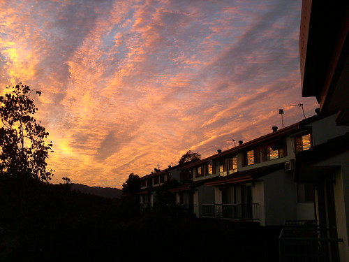 sunset reflections australia queensland goldcoast oxenford gavenheights terracesonthepark gertstobbephoto 99gfavsj7