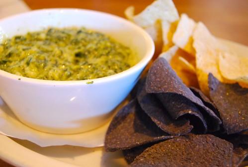 Heart Healthy Hummus and Spinach-Avocado Dip