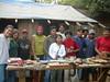 Jovenes talladores de El Alto en Taller Guasasse SIV