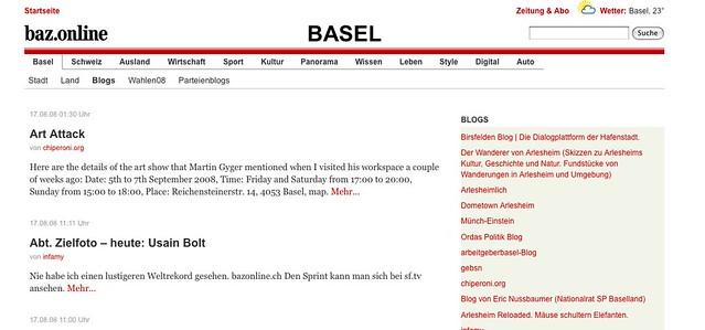Image Result For Basler Zeitung
