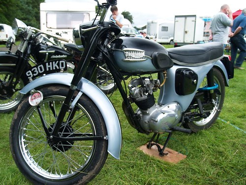 Triumph 200cc Classic Motorcycle - 1963