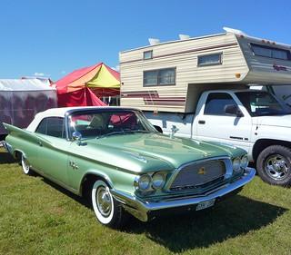 Green Chrysler New Yorker  Convertible 1960
