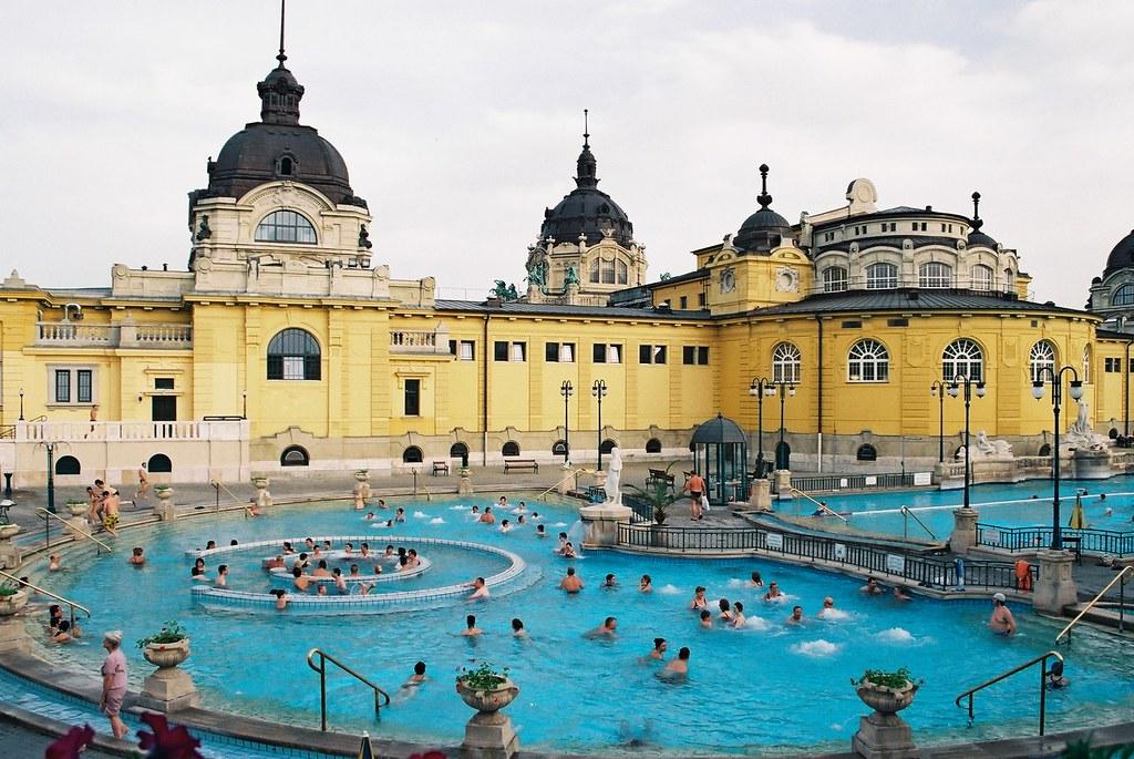 Budapest 温泉