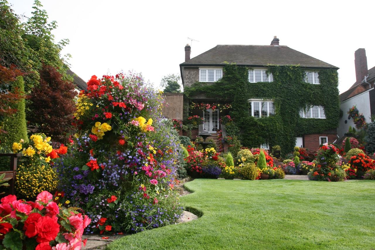 Английские сады своими руками