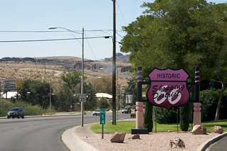 More recent Route 66 sign/commercialization