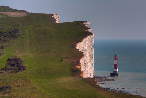 Suicide hotspot, Beachy Head, Sussex