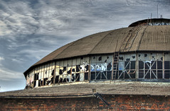 Top Of The Roundhouse HDR